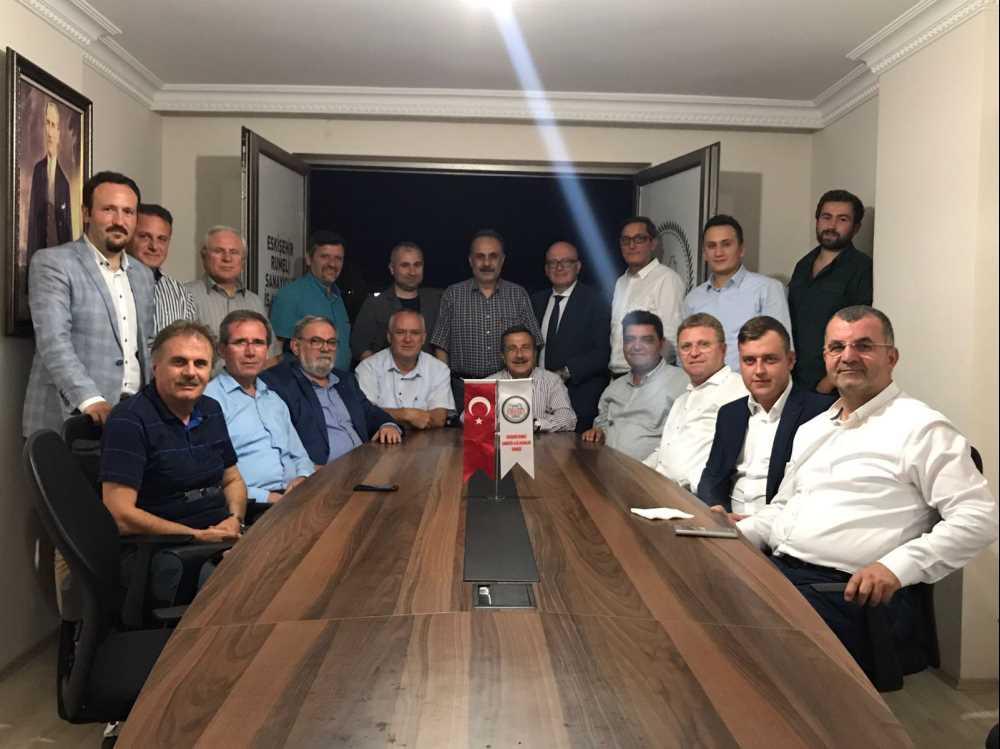 Ataç'tan Rumelili iş  adamlarına ziyaret
