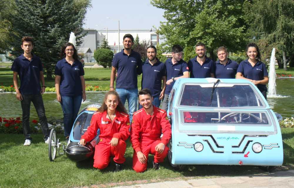 Hidroana ekibi gözünü  yerli otomobile dikti